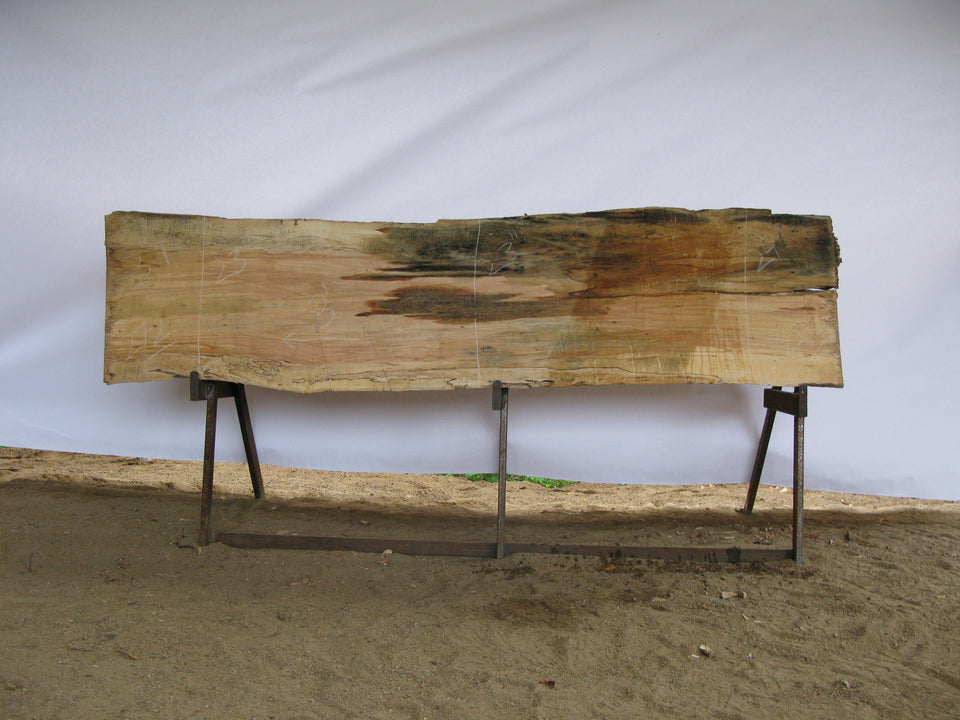 "Spalted Maple B Slab 3"" x 23"" x 8' SPM-272"