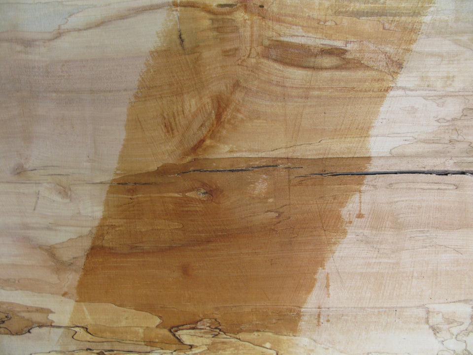 "Spalted Maple B Slab 3"" x 28"" x 8' SPM-276"