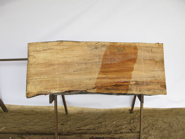 "Spalted Maple A Slab 3"" x 23"" x 5' SPM-282"