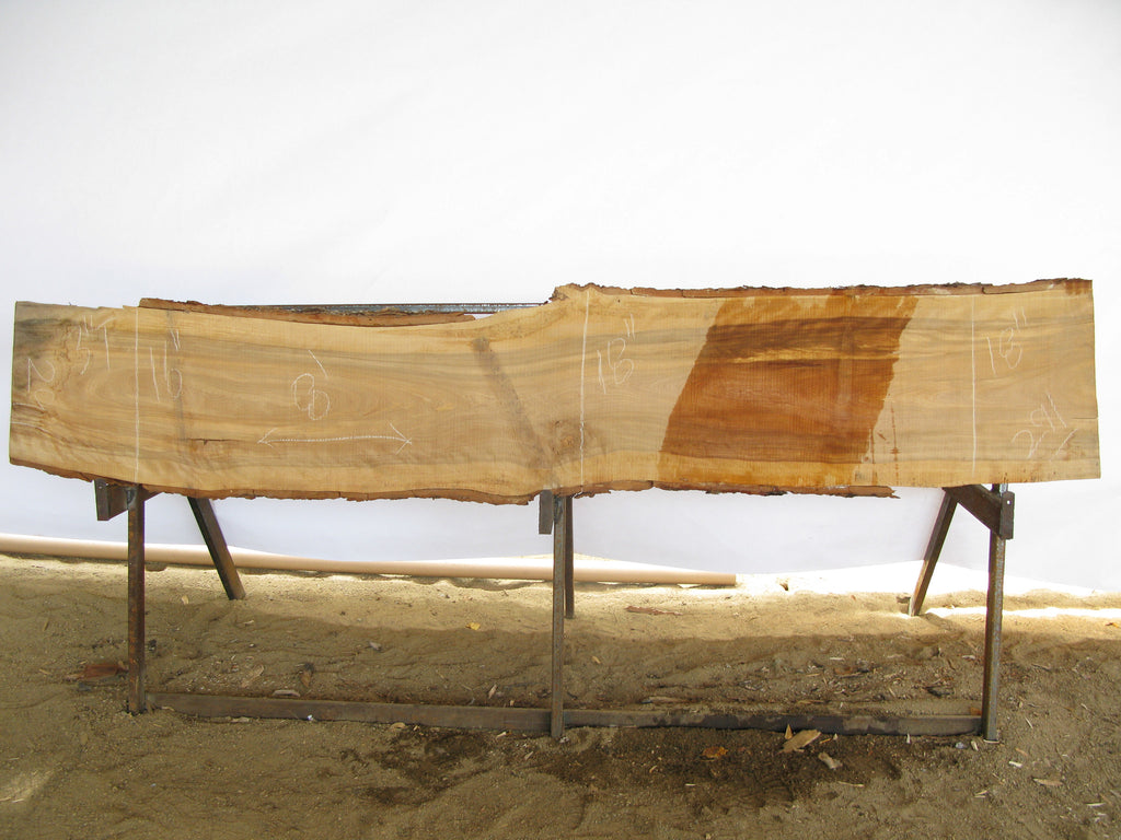 "Birch A Slab 3"" x 17"" x 8' BIR-291"