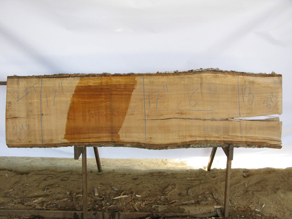 "Birch A Slab 2.5"" x 17"" x 6' BIR-343"