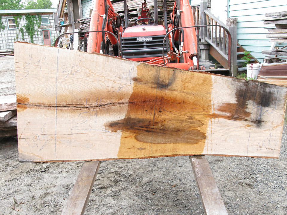 "Red Oak A Slab *jacket* 5"" x 25"" x 5.75' RO-475"