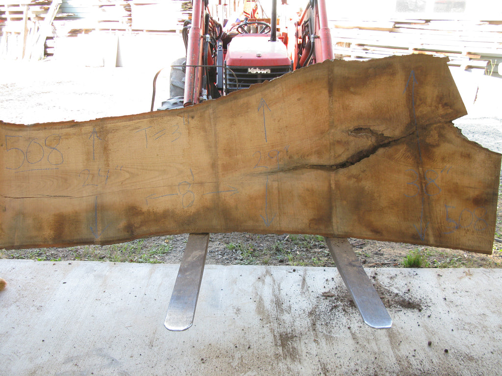 "Red Oak B Slab 3"" x 30"" x 8' RO-508"