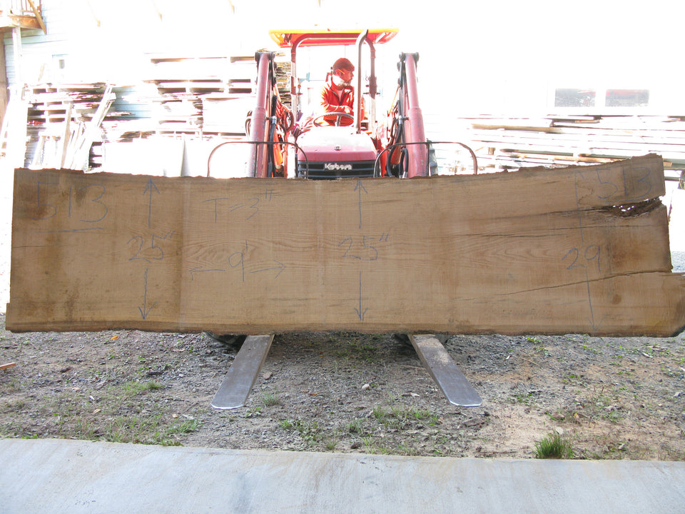 "Red Oak B Slab 3"" x 26"" x 9' RO-513"