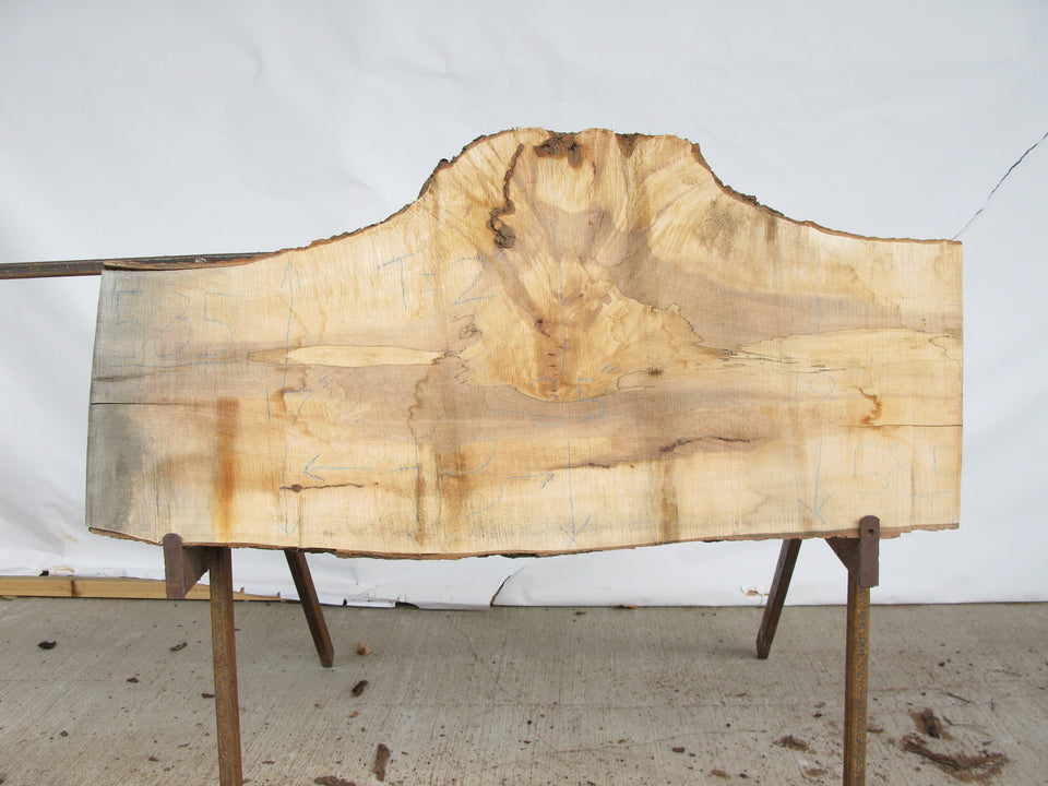 "Maple B Slab 2"" x 20"" x 4.25' MAP-585"