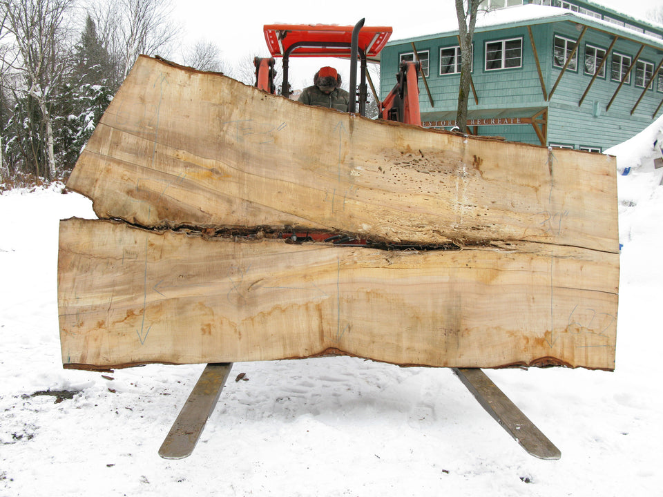 "Maple B Slab 3"" x 46"" x 8' SPM-622"