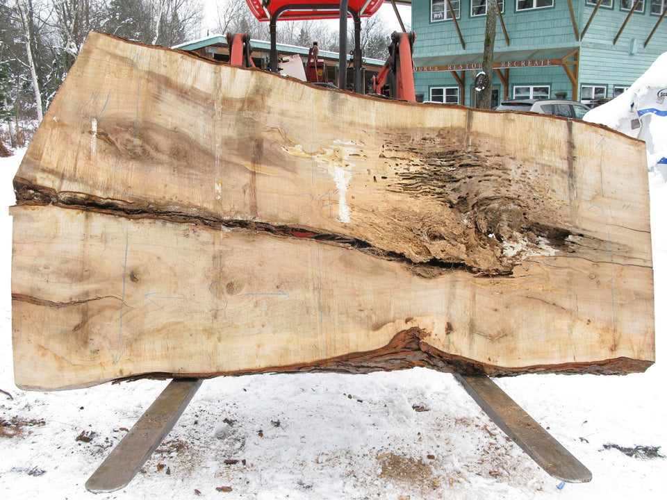 "Maple C Slab 3"" x 44"" x 8' SPM-624"