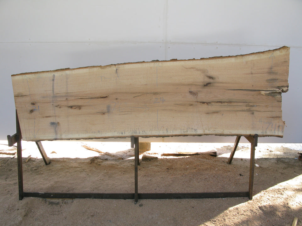 "Red Oak Slab 3"" x 23"" x 7.5' RO-740"