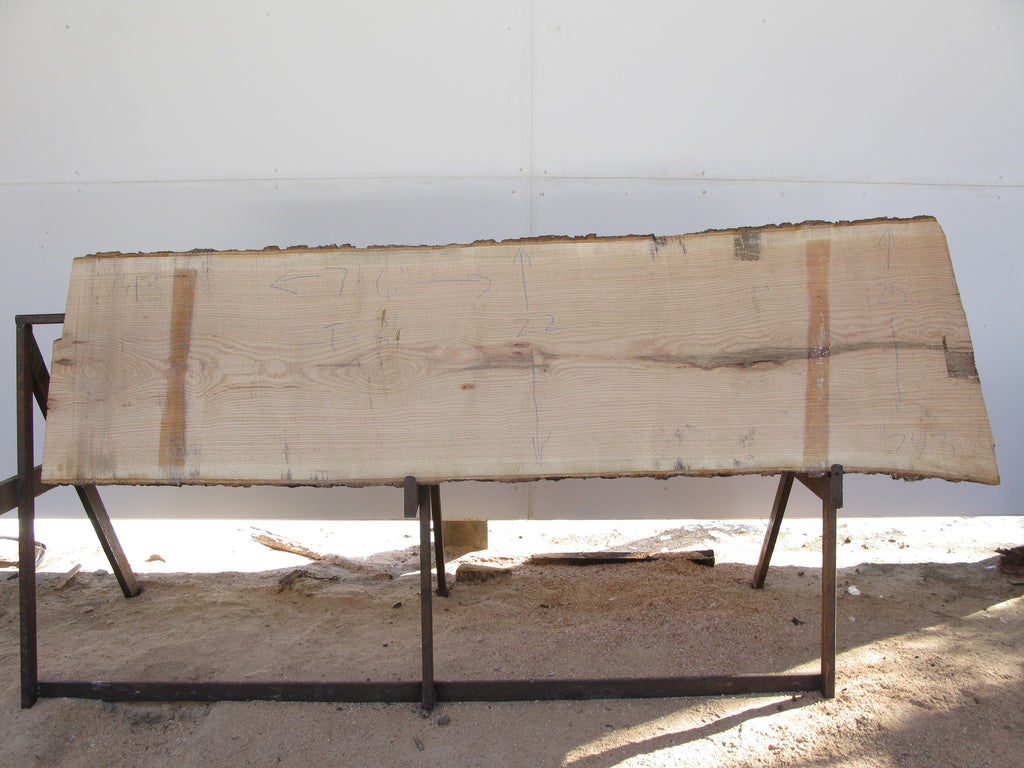 "Red Oak Slab 3"" x 23"" x 7.5' RO-743"