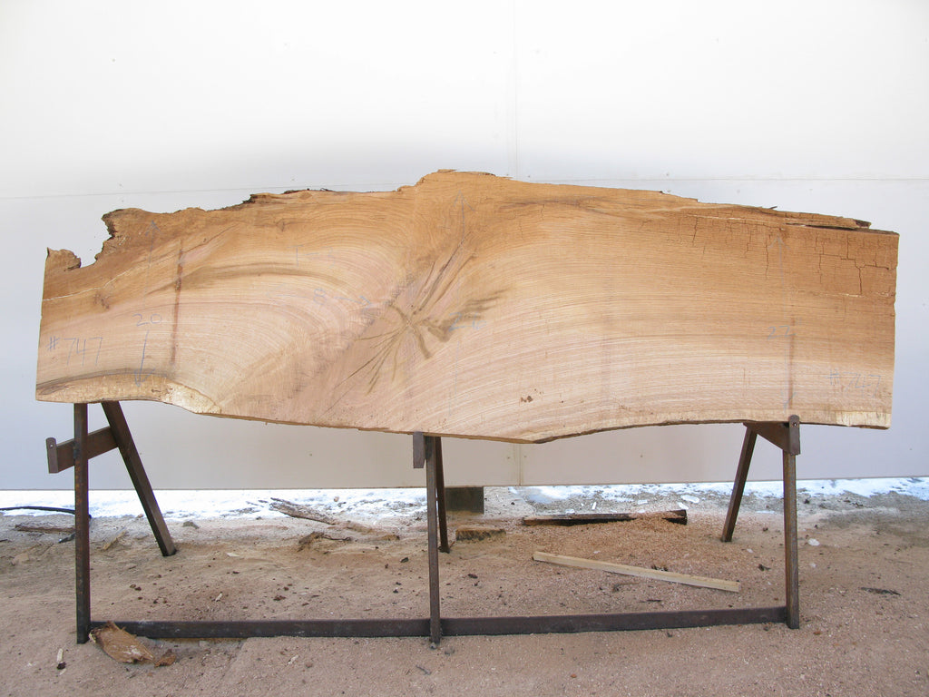 "Red Oak Slab 3"" x 22"" x 8' RO-747"