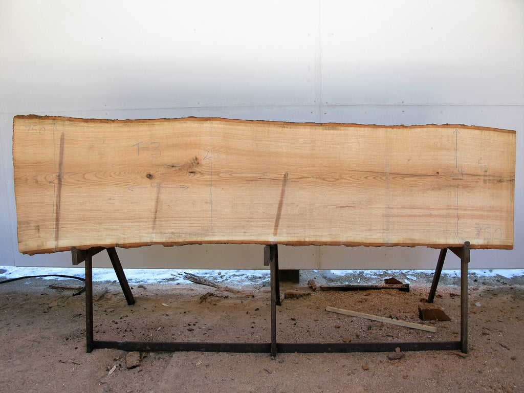 "Red Oak Slab 3"" x 25"" x 9' RO-750"