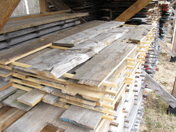 "Elm, Hand Hewn Jacket Boards - 4/4, 6-10"", 7.5' - 180bf - SKU852"