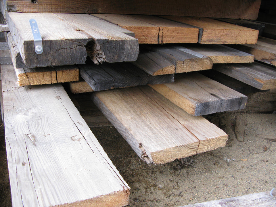 "Douglas Fir & Southern Yellow Pine Mix - 4/4+, 6-10"", 8-10' - 200bf - SKU817"