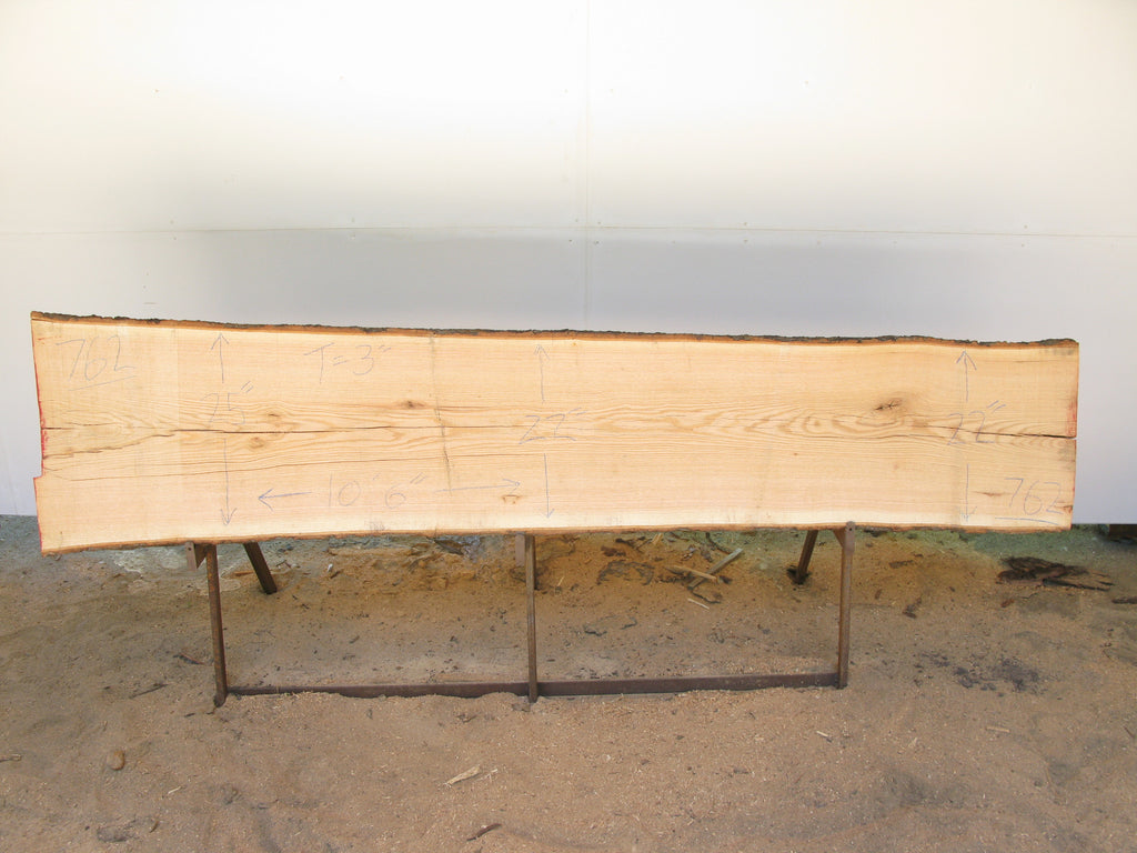 "Red Oak A Slab 3"" x 23"" x 10'6"" SKU772"