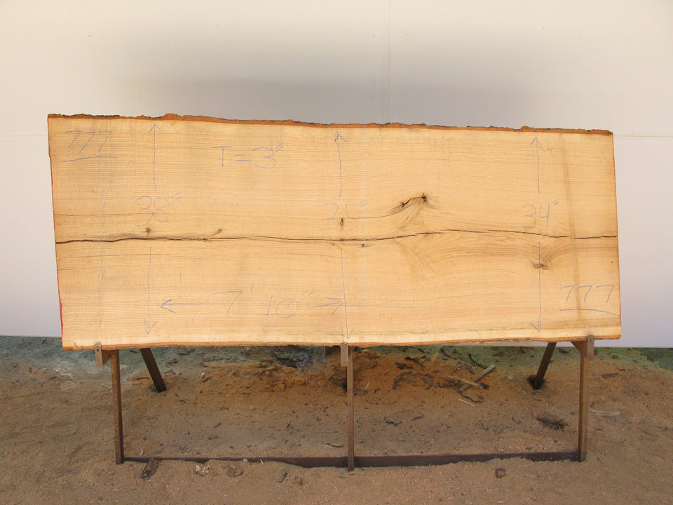 "Red Oak A Slab 3"" x 35"" x 7'10"" SKU777"