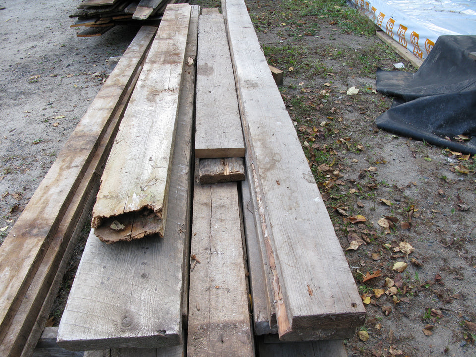 "Reclaimed Brown Board. 2"" x 6""-12"". Up to 14'. SKU 1092"
