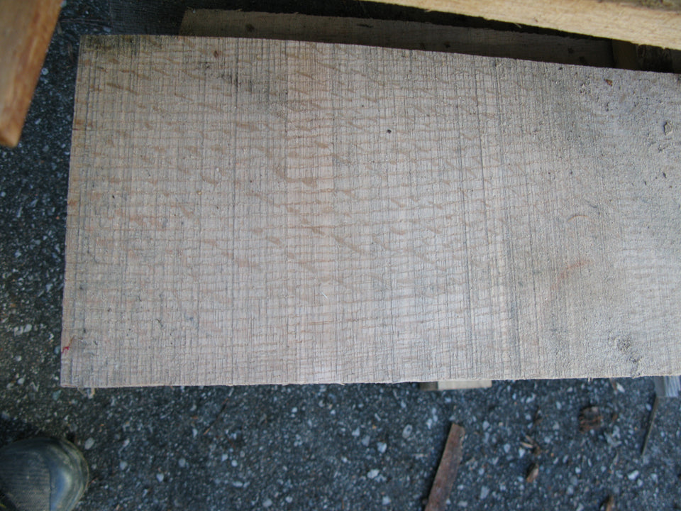 "Red Oak, quarter sawn - 4/4, 6-7"" x 4-9' - 229bf - SKU1102"