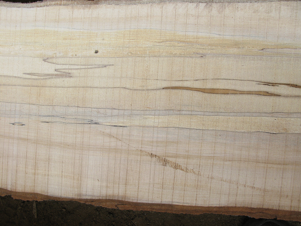 Spalted Hard Maple: Triple Slab Set. SKU 011-18