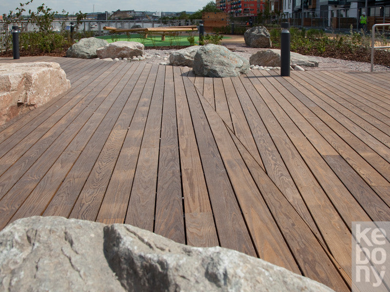 Kebony Decking, Cladding 38mm x 184mm x 10'