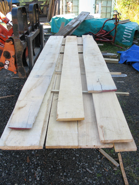 "Yellow Birch 4/4 X 6""-11"" X 8'-10' - 60 bft - SKU953"