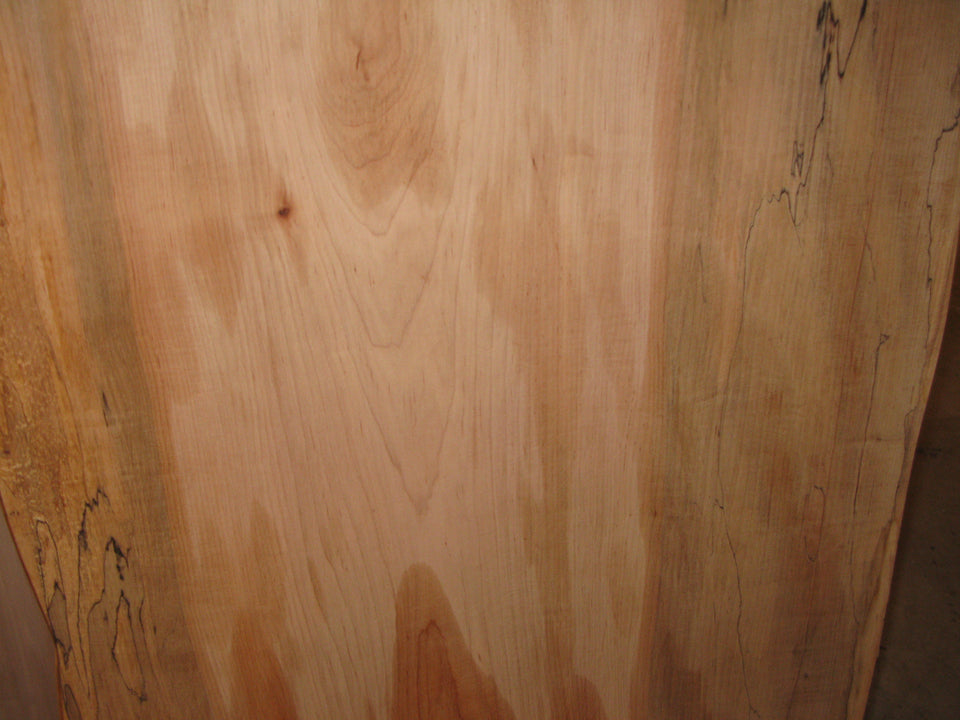 Incomplete Spalted Maple Slab Table Top: SPM3