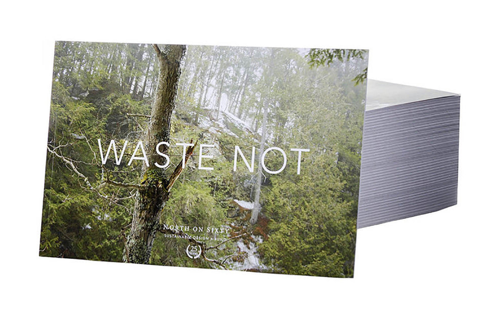 Waste Not 25th Anniversary Book