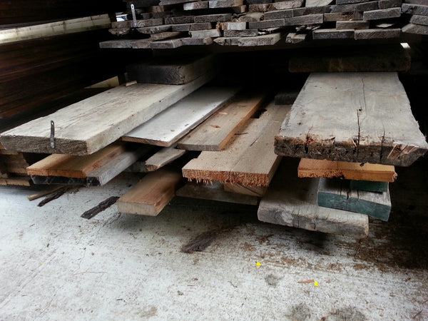"Softwood Mix - 3/4 to 10/4, 5-14"", 8-12' - 206bf - SKU991"
