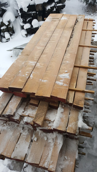 "Red Oak Lumber, Quarter Sawn - 8/4, 4-5"", 8-12'- 400BF - SKU259"