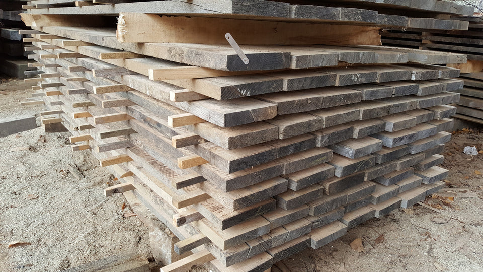 "Red Oak - 4/4, 6-8"", 8' - 300bf - SKU082"