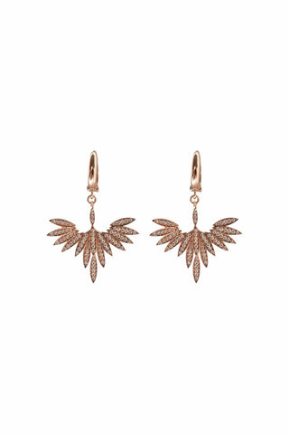 Fly High Earrings Rose Gold