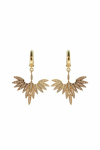 Fly High Earrings Gold