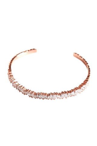 Rose Gold Stacked Bangle