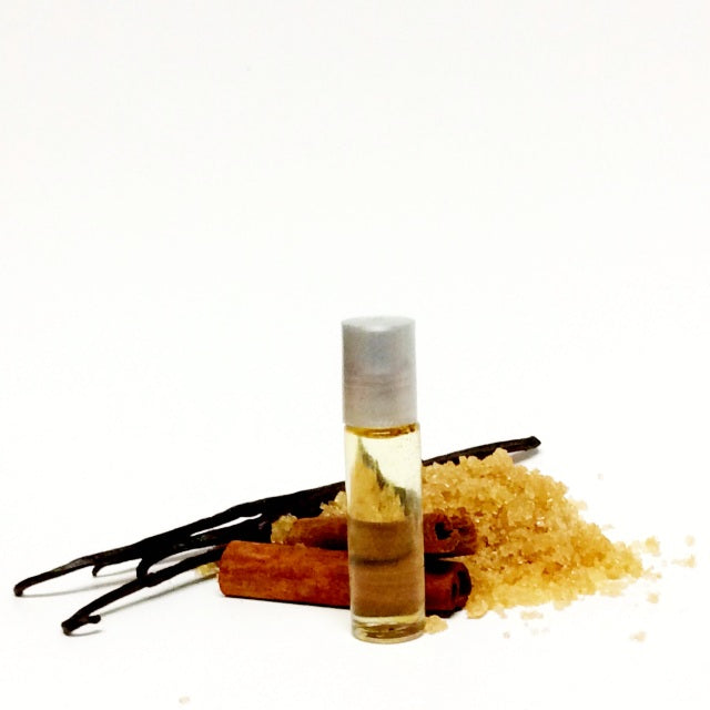 Sugar & Spice Essential Oil Perfume - Sweet, Spicy, All Natural Perfume Oil