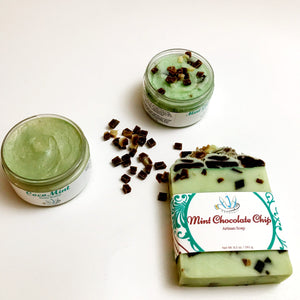 Mint Choco Chip Sugar Scrub