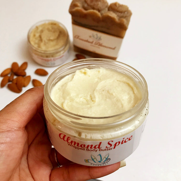 Almond Spice Body Butter - Vegan + All Natural + Light & Airy