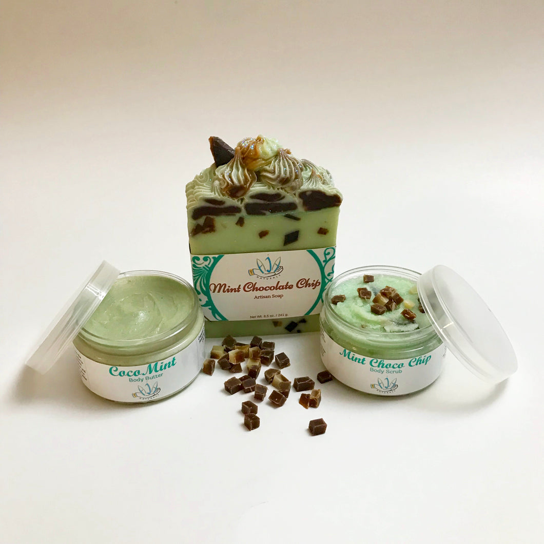 Mint Chocolate Chip Gift Set