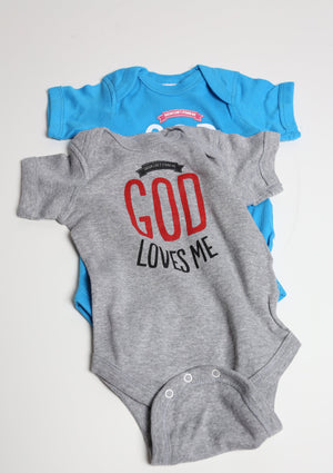 God Loves Me Onesie