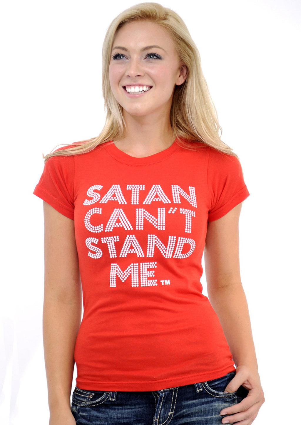 Original Satan Can't Stand Me Top