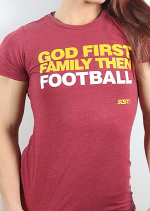 God First Football - Rustic
