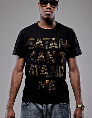 Final Sale - Satan Can't Stand Me Studded