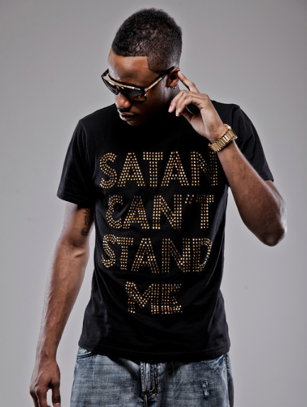 Original Satan Can't Stand Me Studded