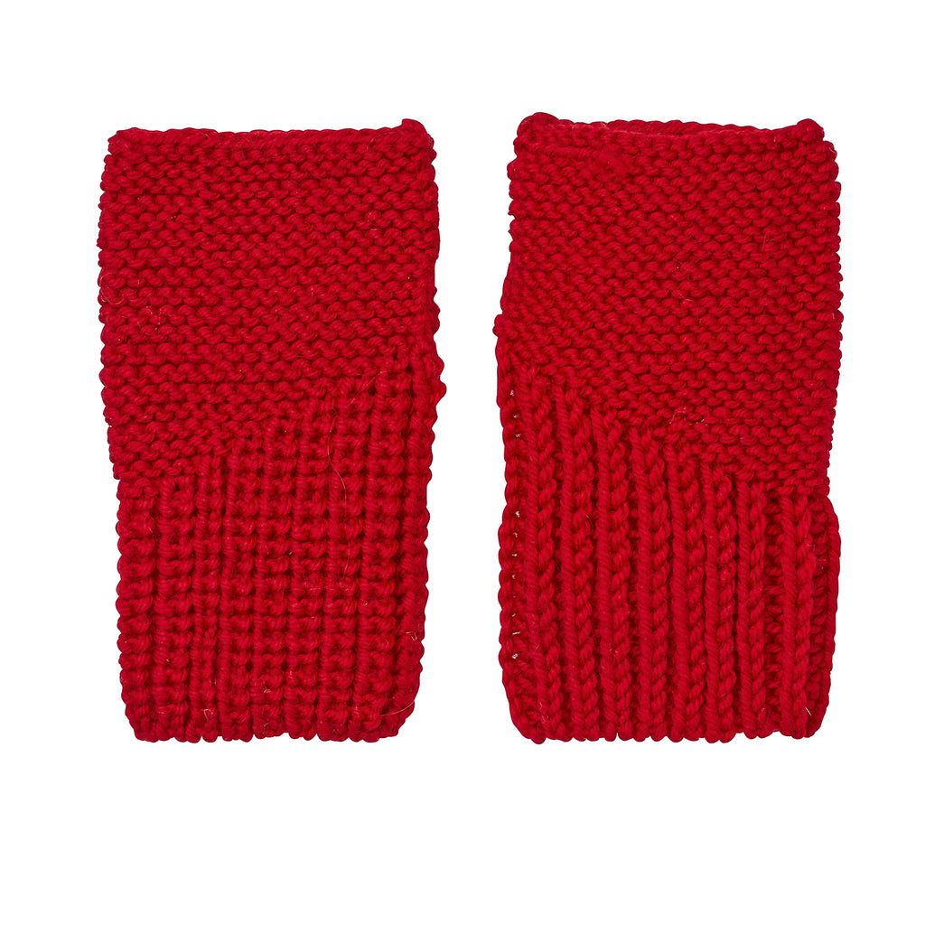Campside Mittens Red