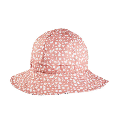 Chambray Pirate Bucket Hat