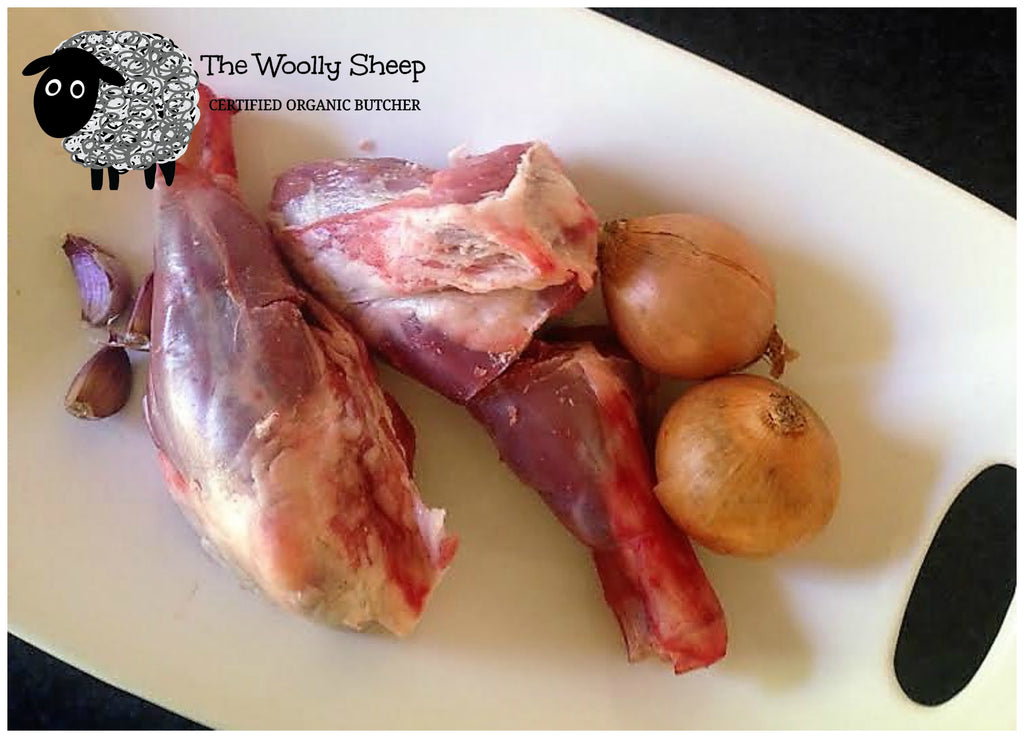 CERTIFIED ORGANIC LAMB SHANKS - The Woolly Sheep
