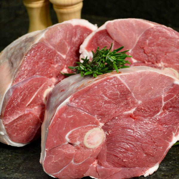 CERTIFIED ORGANIC LAMB LEG - large 2kg - The Woolly Sheep