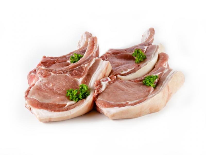 Certified Organic Pork Cutlets - The Woolly Sheep