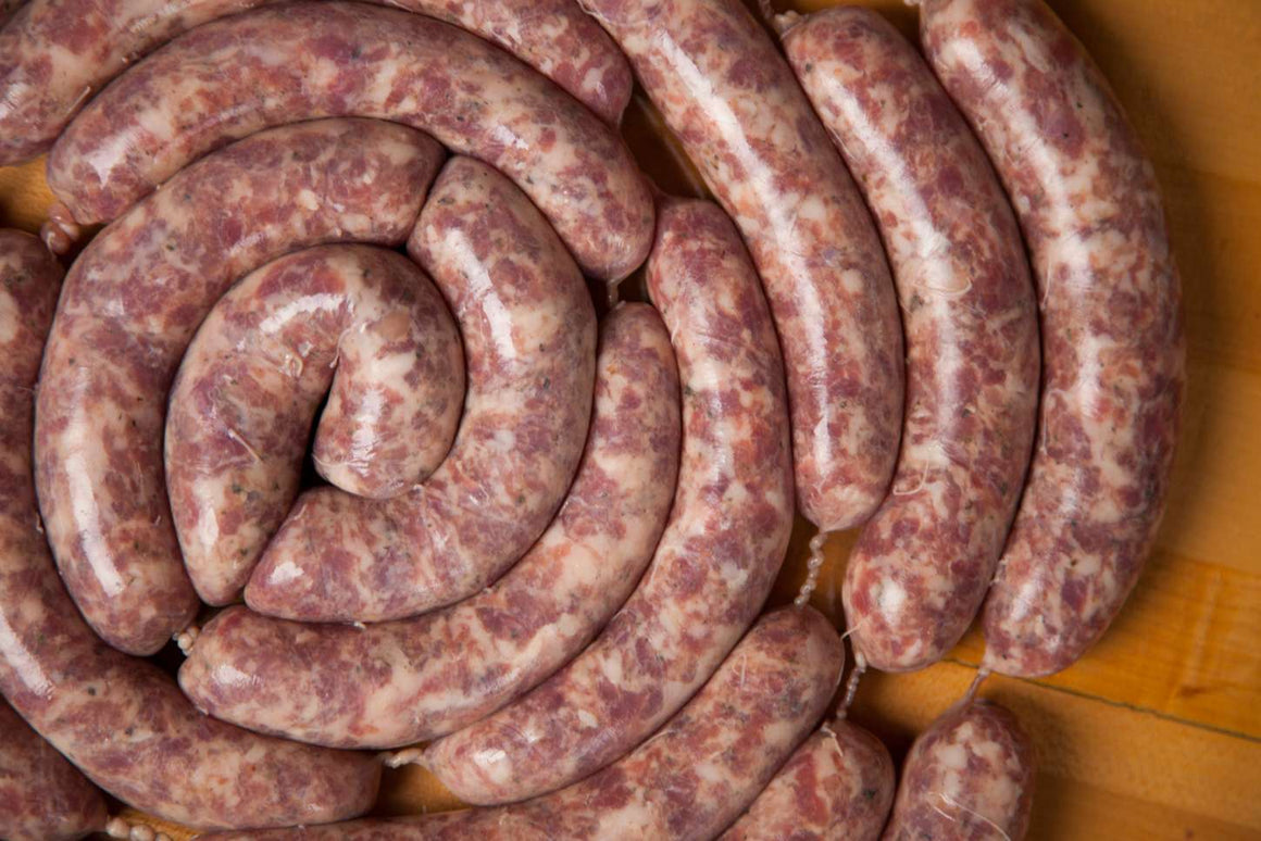 CERTIFIED ORGANIC CARNIVORE SAUSAGES 1 kg - NEW ITEM!!! - The Woolly Sheep