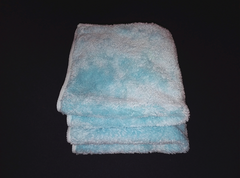 Plush Velour Microfiber Towel 4-pack