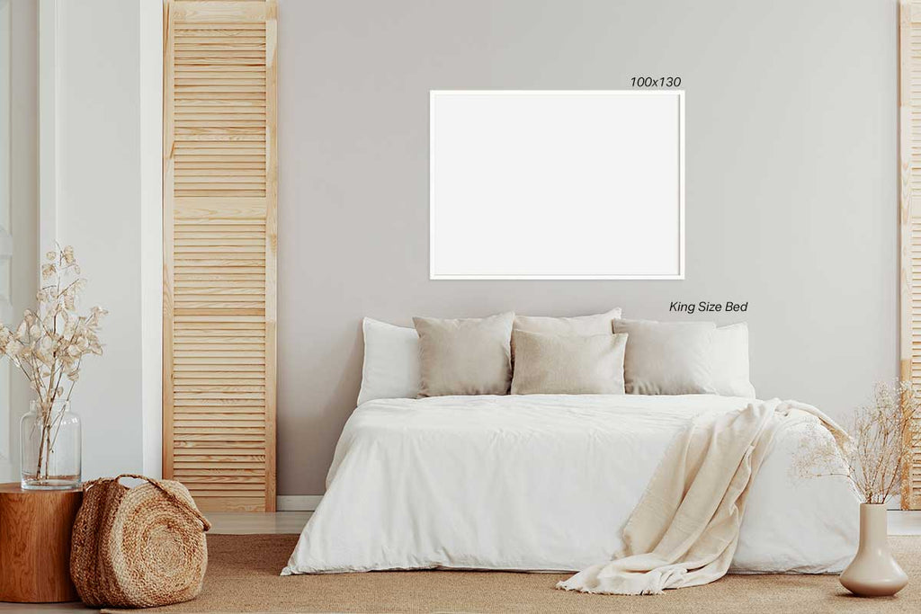 Wall Art Size Guide Chart Huge Large Format Print 100x130