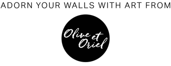 Olive et Oriel | Shop Art & Framing Online